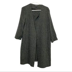 Eileen Fisher 7/8 sleeve duster size L